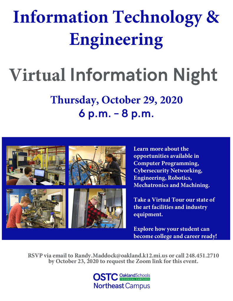 Information Technology & Engineering - Information Night